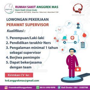 Lowongan Kerja Perawat Supervisor & Marketing Rumah Sakit