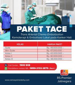 Paket TACE (Trans Arterial Chemo Embolization) RS Premier Jatinegara