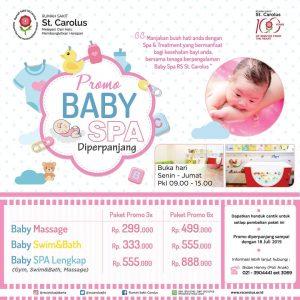 Promo Baby Spa RS Carolus Jakarta