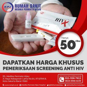 Promo Pemeriksaan Screening anti HIV