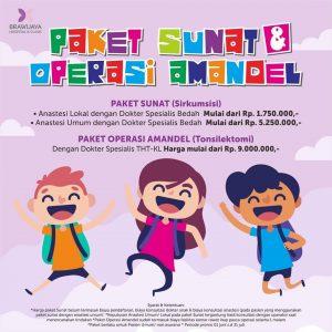 Promo Sunat & Amandel Brawijaya Hospital