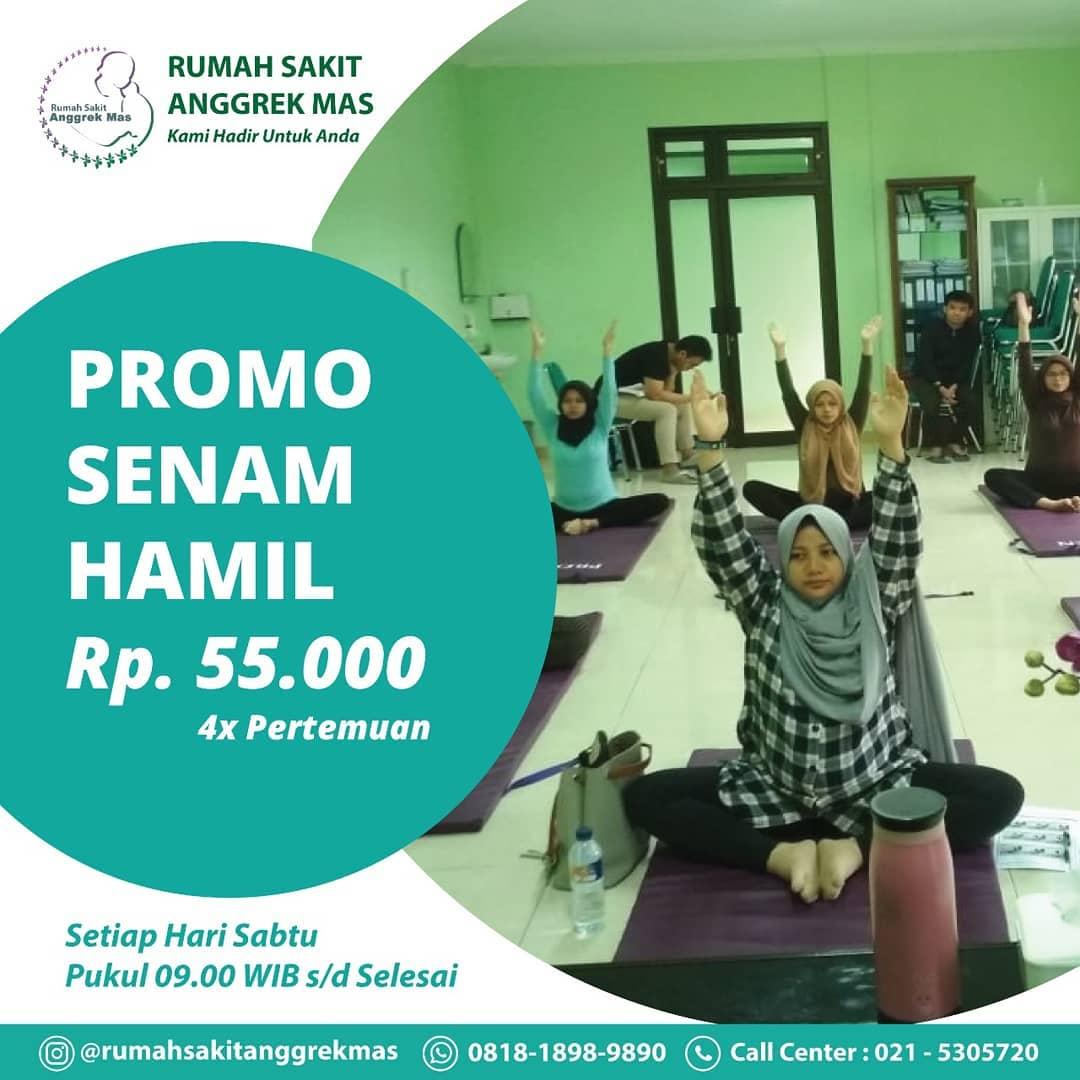 Promo Senam Hamil
