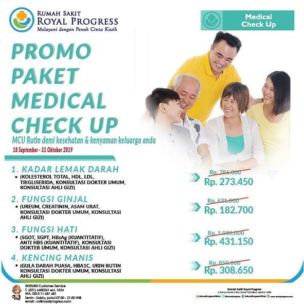 Promo Paket Medical Check Up