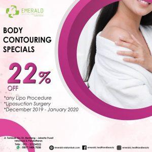 Diskon 22% Body Contouring RSIA Tambak