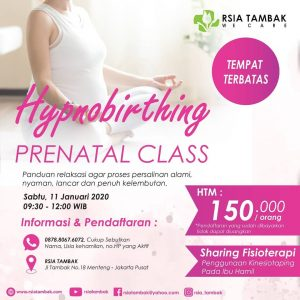 Hypnobirthing Prenatal Class