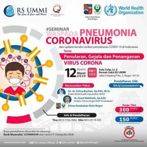 Seminar Waspada Pneumonia Corona