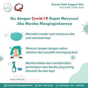 Tips untuk ibu yang tetap ingin menyusui atau memberikan ASIP jika tertular COVIID-19