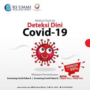MCU Deteksi Dini Covid-19 RS Ummi