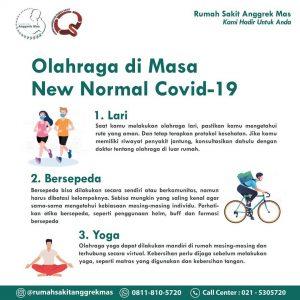 Olahraga di Masa New Normal Covid-19