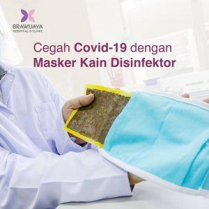 Cegah Covid-19 Dengan Masker Kain Disinfektor
