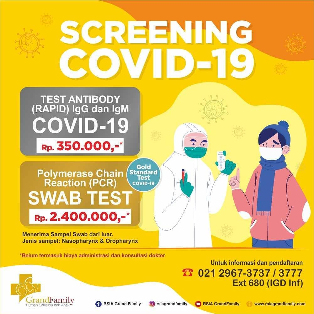 Screening Covid-19 RSIA Grand Family