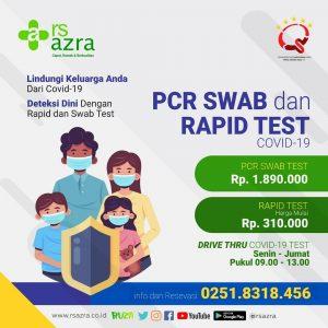 PCR SWAB TEST & RAPID TEST  COVID-19