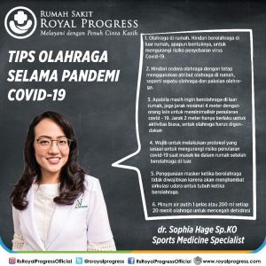 Tips Olahraga Selama Pandemi COVID-19