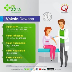 Vaksin Dewasa RS Azra