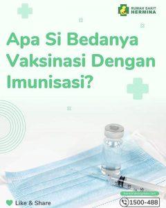 Apa Sih Bedanya Vaksinasi Dengan Imunisasi?