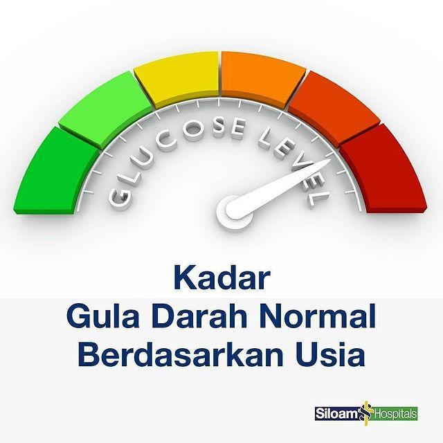 Kadar Gula Darah Normal Berdasarkan Usia