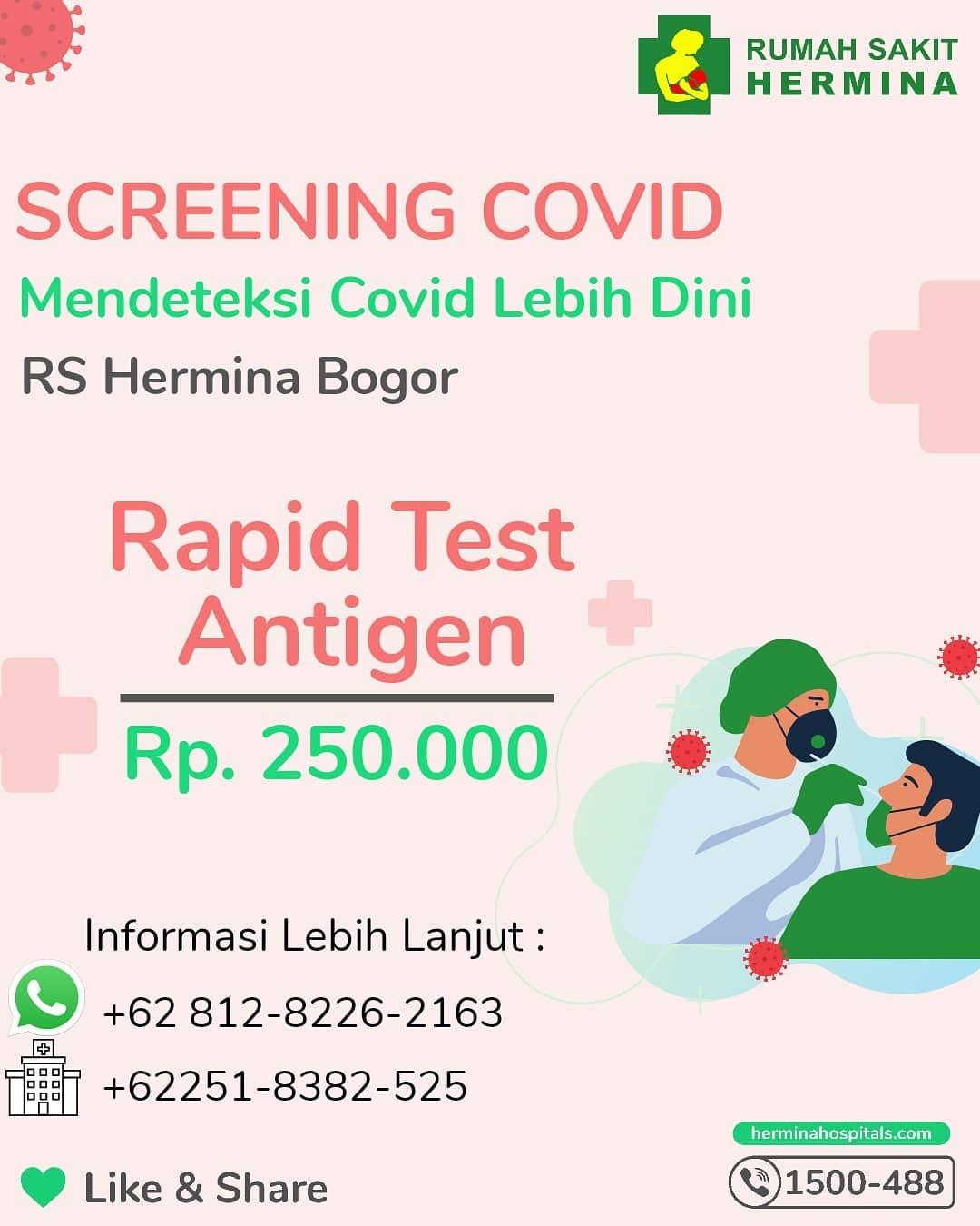 Rapid Test Antigen RS Hermina Bogor