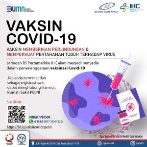 Vaksin Covid-19 RS PELNI