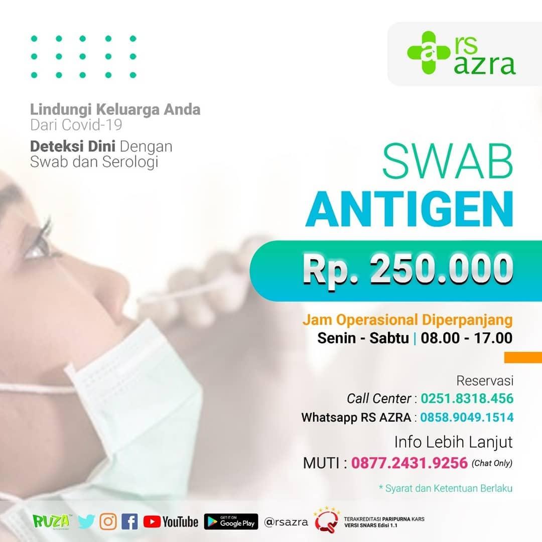 Swab Antigen RS Azra