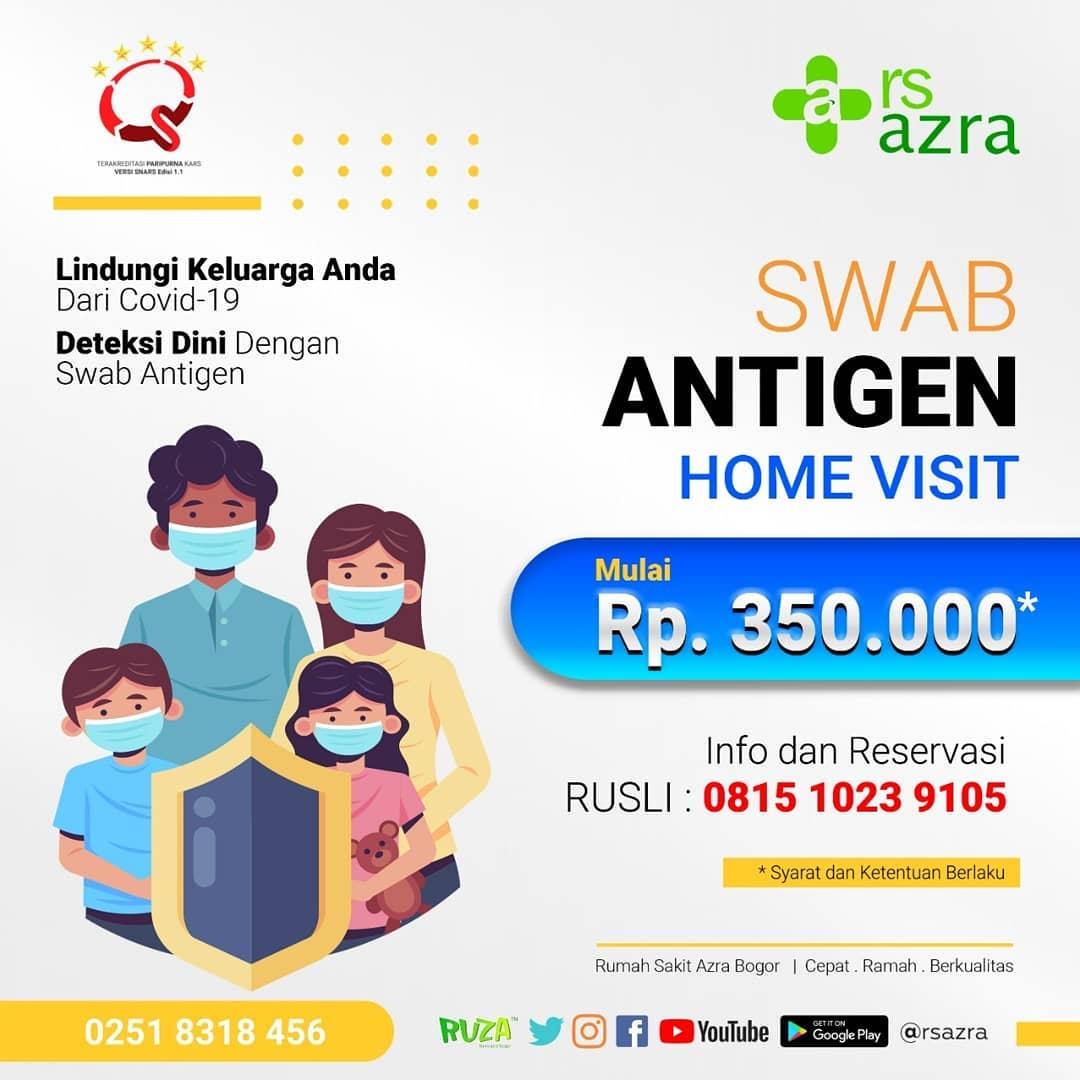 Swab Antigen Home Visit