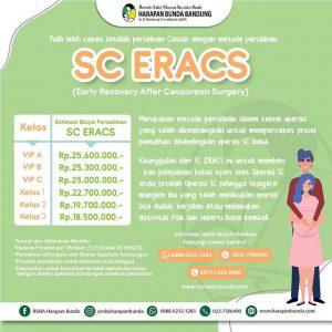 Estimasi Tarif Persalinan SC ERACS RSKIA Harapan Bunda Bandung